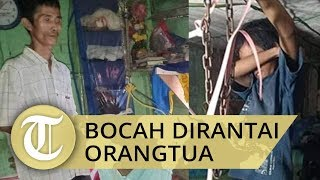 Viral Video Bocah Dipasung di Aceh Diselamatkan Anggota TNI