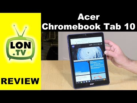 Acer Chromebook Tab 10 Review – ChromeOS Tablet With Android and Linux Support