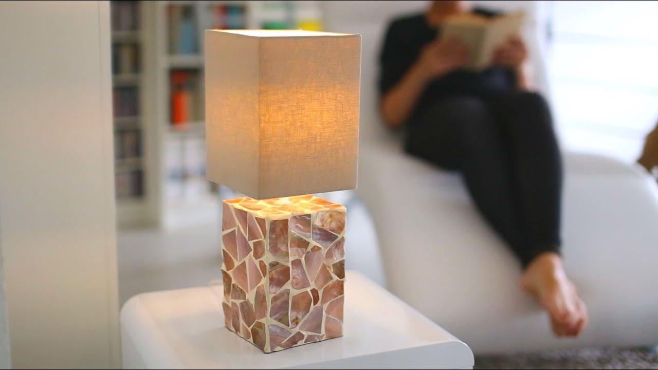 Video von: Tischlampe GLEAM Mosaik