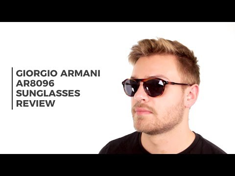 Giorgio Armani AR8096 Sunglasses Review | SmartBuyGlasses