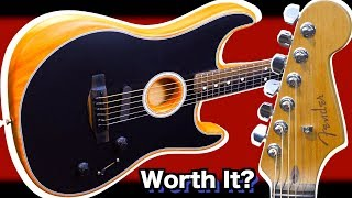 Is It REALLY Worth Buying One Of These? | 2020 Fender Acoustasonic Stratocaster | Review + Demo