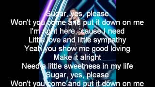 Chris Jamison-Sugar-The Voice 7[Lyrics]
