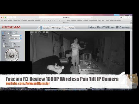Foscam R2 Review 1080P Wireless Pan Tilt IP Camera