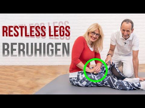 Restless Legs abstellen - Diese 4 Übungen beruhigen deine Beine!