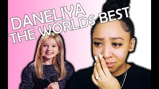 """12 YEAR OLD DANELIYA PERFORMS """"RISE UP'""""   THE WORLDS BEST AUDITION 