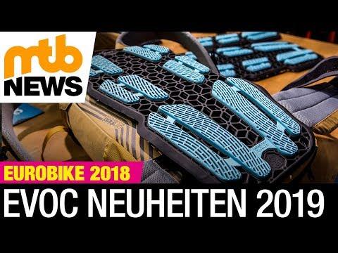 Evoc Neo mit neuem Airshield Protektor-System, verbesserter Bike Travel Bag