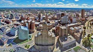 Buffalo, New York - Driving Around Downtown (November 2, 2017)