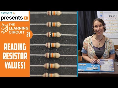 Reading Resistor Chart Values - The Learning Circuit