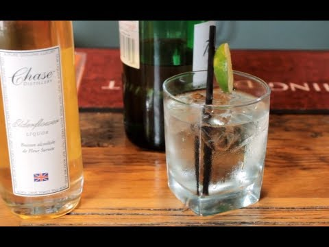 Video Gin & Elderflower Soda Recipe - Refreshing Gin Drink Recipe