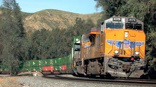 HD: Yuma, San Bernardino, Cajon, And Los Angeles Subdivision Railfanning In February 2015