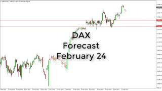 DAX30 Perf Index - Dax Technical Analysis for February 24 2017 by FXEmpire.com