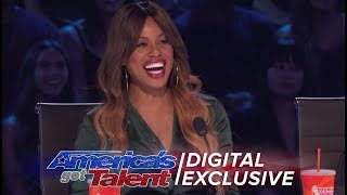 Laverne Cox Joins AGT As Special Guest Judge - America's Got Talent 2017 (Extra) thumbnail