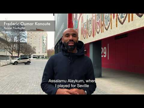 Kanouté se involucra en recaudar fondos para una mezquita en Sevilla