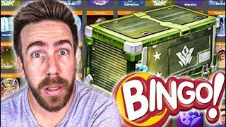 5 Line Bingo Crate Wars Should Be Illegal!