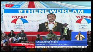 KTN Prime: Super Alliances principals pay tribute to Wiper endorsing Kalonzo Musyoka as their leader