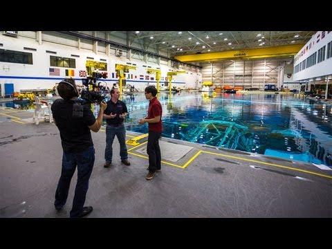 How Astronauts Train Underwater at NASA's Neutral Buoyancy Lab
