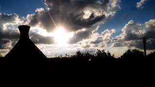 Wolken ziehen vorbei.....