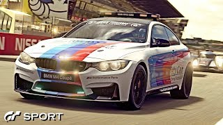 GT SPORT - BMW M4 Pace Car REVIEW