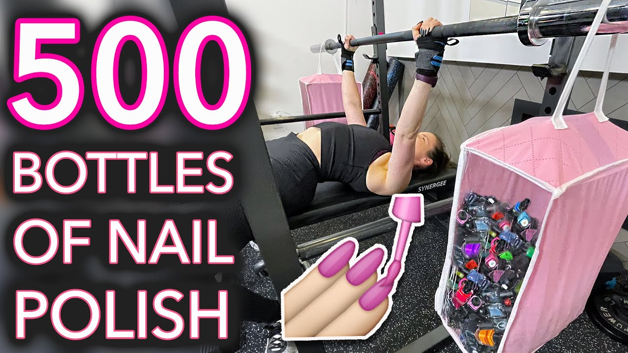How Many Bottles of Nail Polish Can I Lift? thumbnail