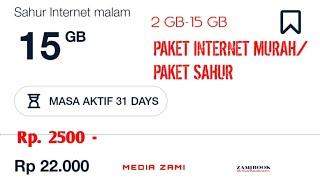 Tutorial Lengkap Cara Membeli Paket Sahur Internet Malam telkomsel