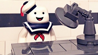 The Mr. Stay Puft Interrogation |LEGO Stop Motion|