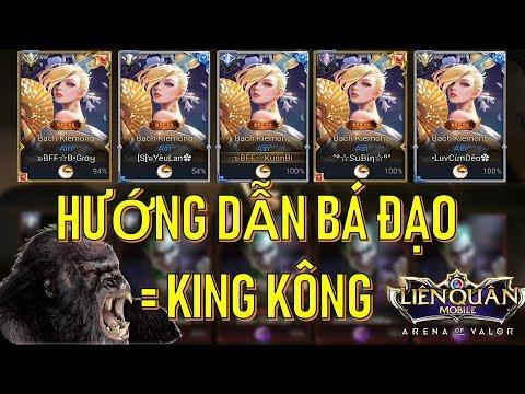 Team Bạch KIEMONO ra trận - Cách chơi King Kông bá đạo nhất Liên quân mobile