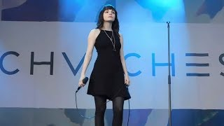 CHVRCHES - Leave a Trace (Ottawa Bluesfest) Live
