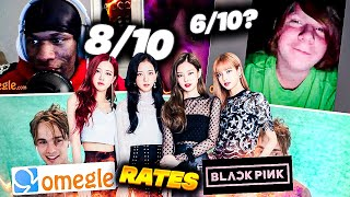 HOW ATTRACTIVE IS BLACK PINK? OMEGLE RATES BP! *SURPRISING!! EP.1