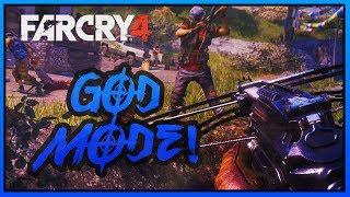 Far Cry 4 - *GOD MODE!* (PS4 NEXT-GEN MODS)