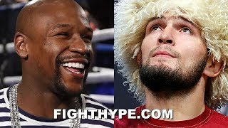 (WOW!) MAYWEATHER RESPONDS TO KHABIB; TELLS CBS, SHOWTIME, AND MGM