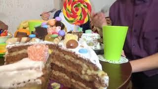 Смотрите День Рождения Саши ПОДАРКИ от Насти ГИРОСКУТЕР Боулинг Едем за главным подарком ГИРОБОРД Вл