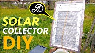 How to make a solar collector DIY