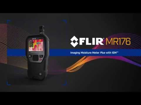 Thermal Imaging Moisture Meter - FLIR MR176
