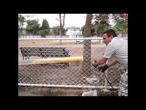 Drain Cleaning Snake VS Jetter Plumber Bangkok