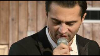 Darius Campbell-Danesh in Rehearsal for History of the Big Bands