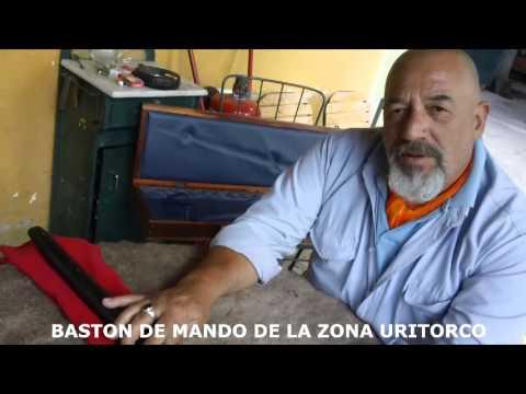 BASTON DE MANDO DE LA ZONA URITORCO CAPILLA DEL MONTE CBA-AR