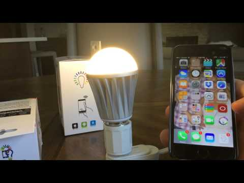 MagicLight Bluetooth LED Bulb Installation Guide Mp3
