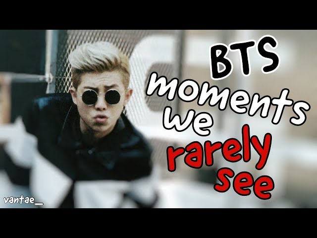 BTS You Smile = You Lose Challenge | Moments that we rarely see