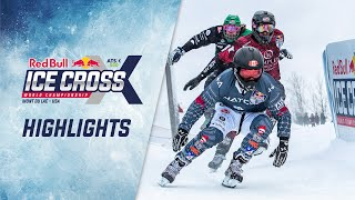 ATSX 500 Mont Du Lac, USA Highlights | 2019/20 Red Bull Ice Cross World Championship