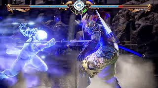 SOULCALIBUR 6 - Yoshimitsu vs Groh Gameplay