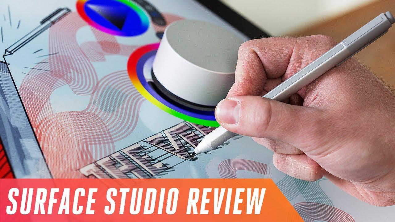 Microsoft Surface Studio review thumbnail