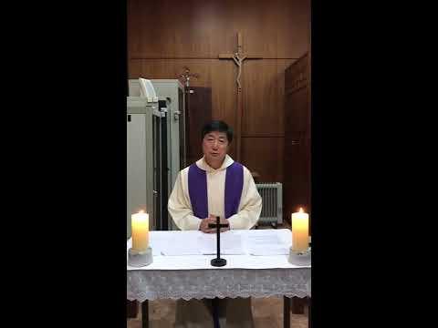 2020 사순4주일 주임신부님 영상