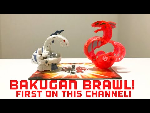 BAKUGAN BRAWL in 2018?! Bakugan Battle #1!