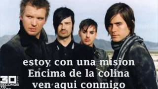 30 Seconds to Mars - The mission (sub. español)