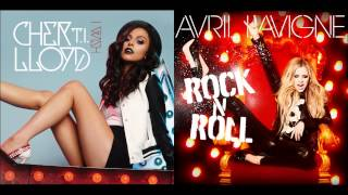 Cher Lloyd Ft. T.I. Vs. Avril Lavigne - I Wish Vs. Rock N' Roll (Mashup)