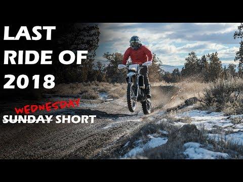 Last Ride of 2018 - Husqvarna FE 350 - Braap!