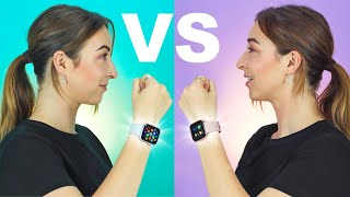 Apple Watch 5 VS Fitbit Versa 2 | + GIVEAWAY !!