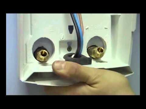 Проточный водонагреватель Stiebel Eltron DHC 8 Video #1