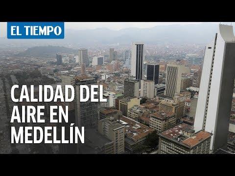 Empieza a mejorar la calidad del aire en Medellín y el Valle de Aburrá | EL TIEMPO