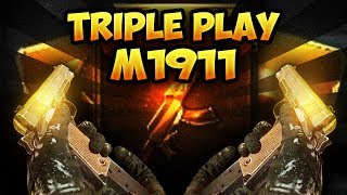 BO3 SnD - Triple Play Unlocked - New M1911 Fun & Rage